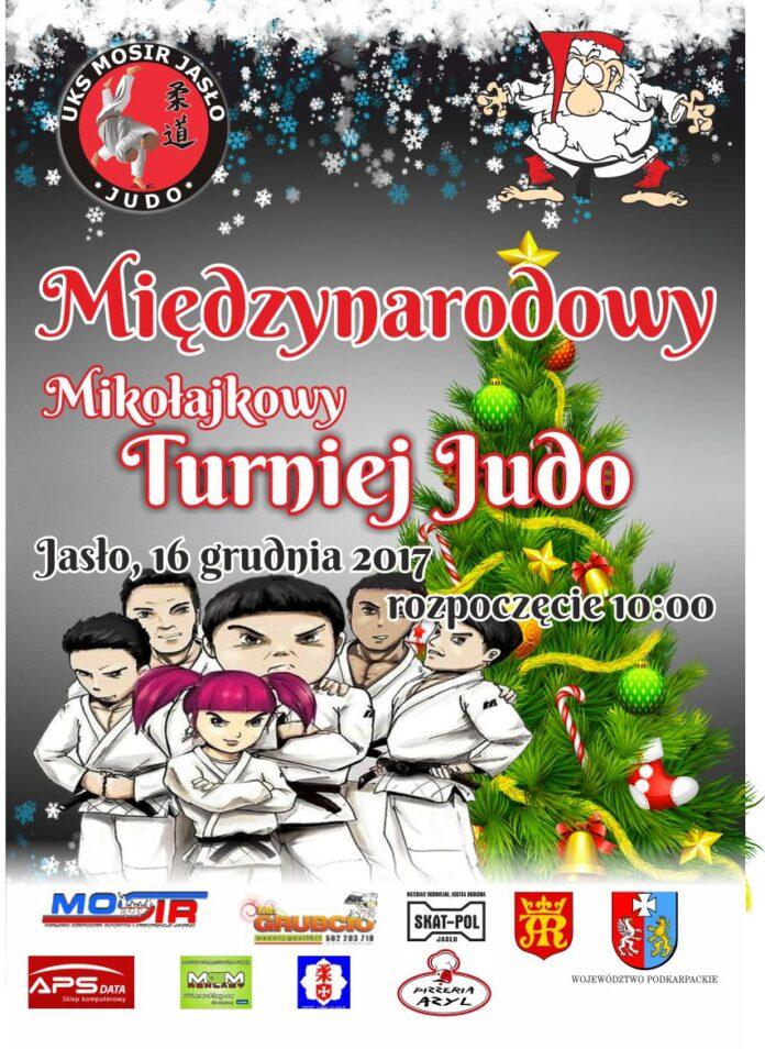 Jasło -Mikołajkowy Turniej w Judo