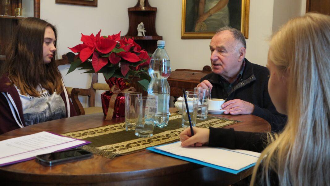 Spotkanie z Karolem Myśliwcem