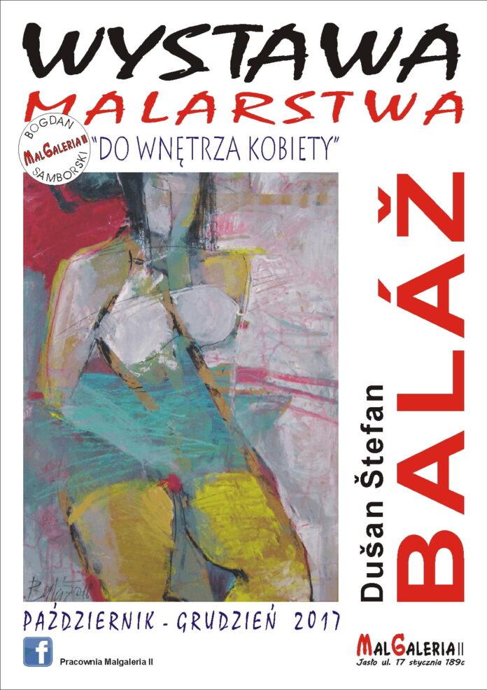 Moje Jasło - Plakat Wystawa Malarska Do Wnętrza Kobiety