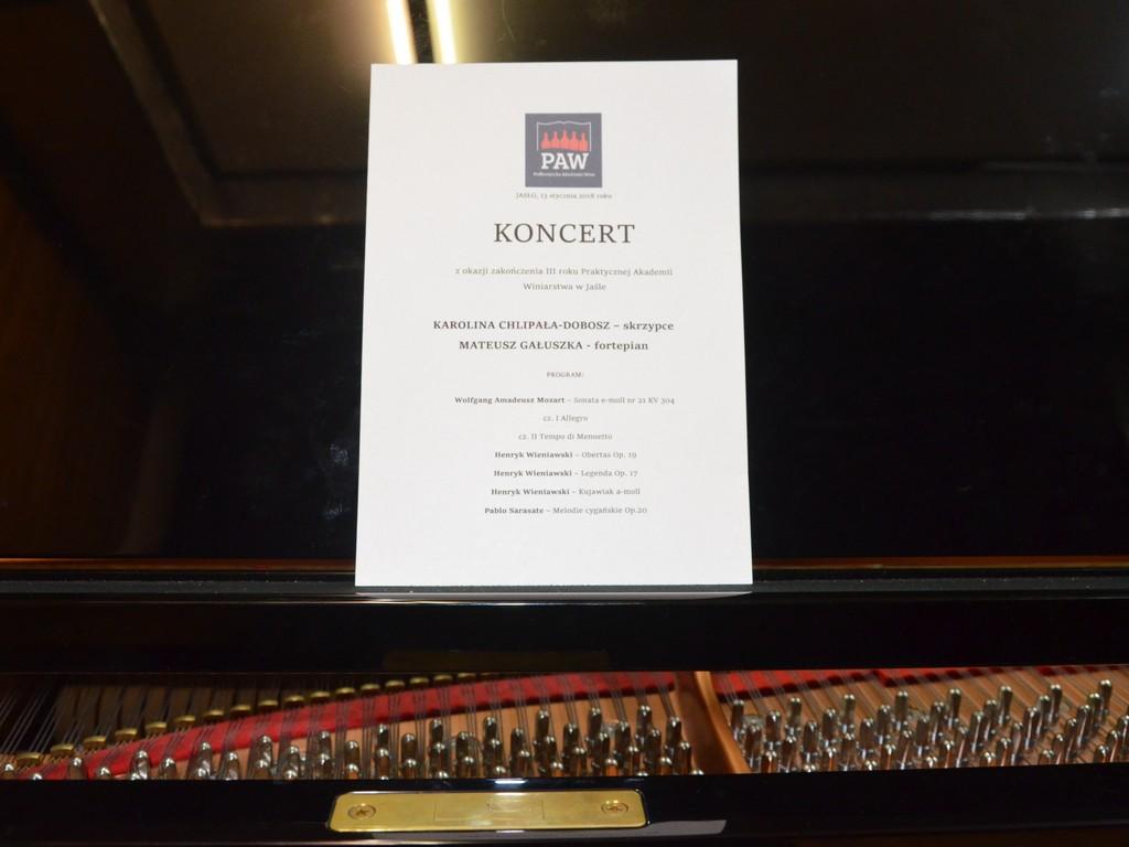 Podkarpacka Akademia Wina - koncert