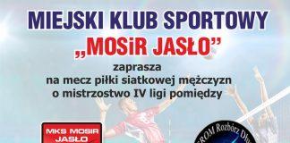 Mecz piłki siatkowej o mistrzostwo IV ligi - Jasło