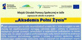 MOPS Jasło - ulotka
