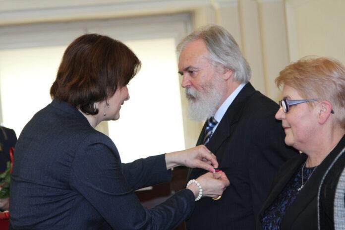Alfred Sepioł odznaczony przez prezydenta