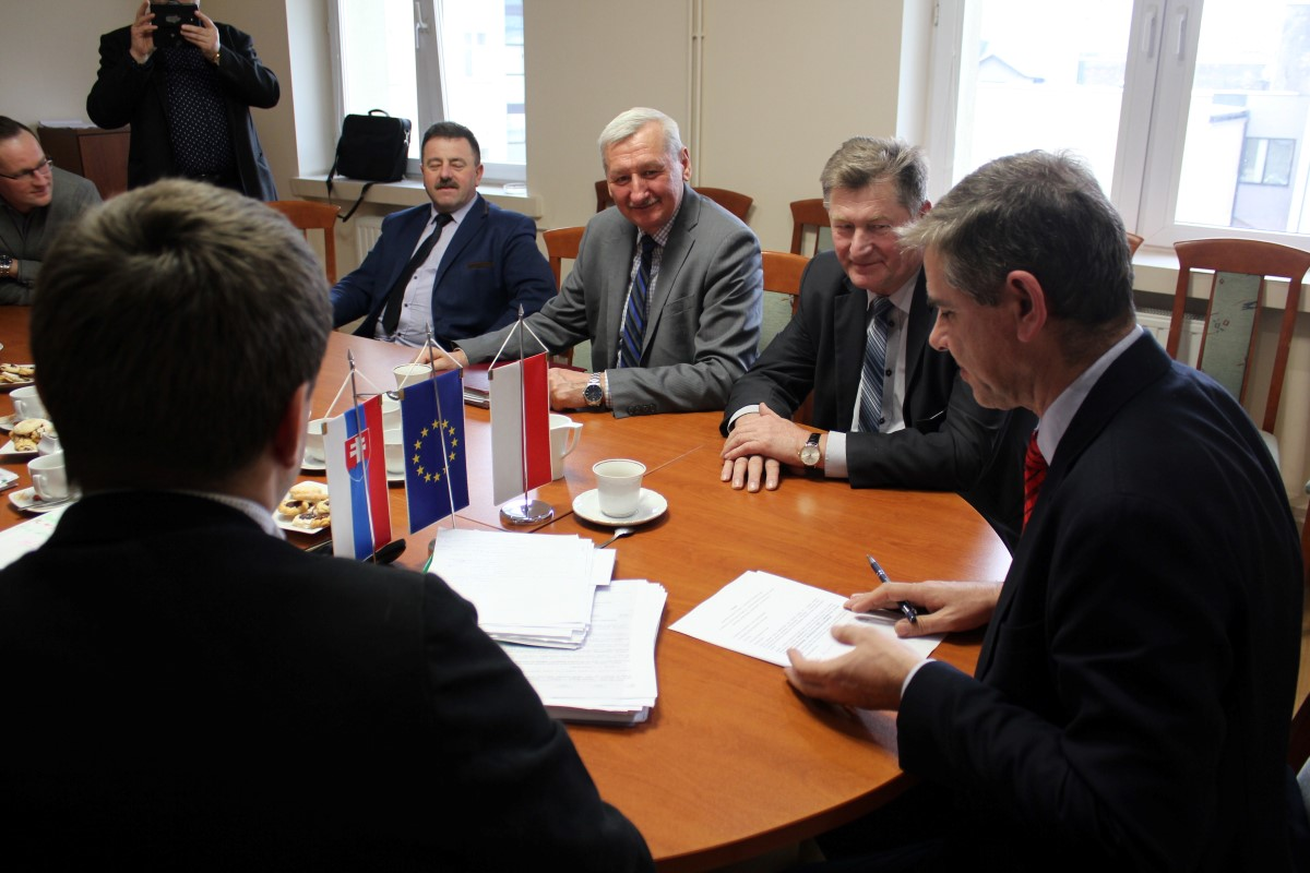 spotkanie w sprawie realizacji drogi 992 w Jaśle