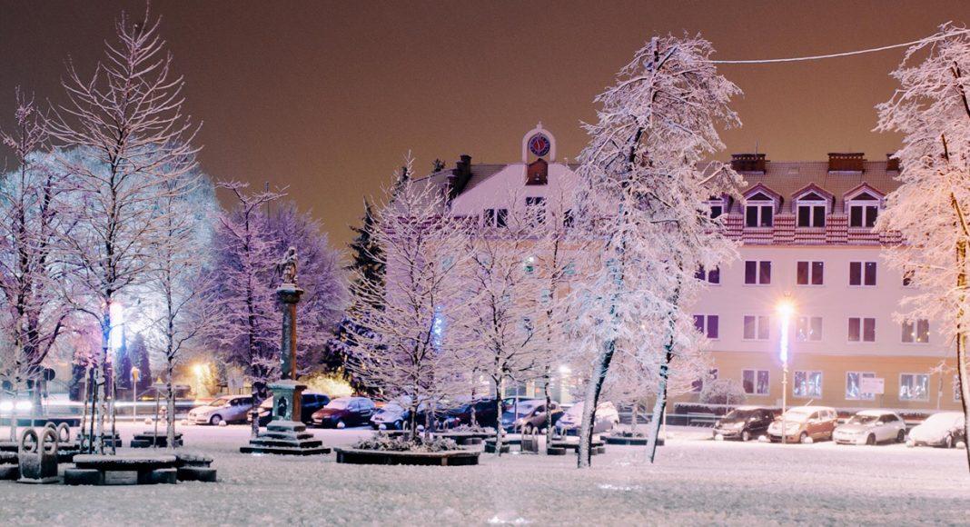 Galeria Jasło zimą