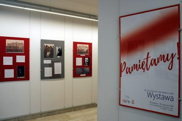 Wystawa w MBP w Jaśle