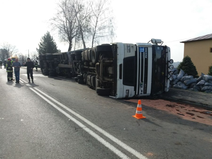 Wypadek w Skołyszynie