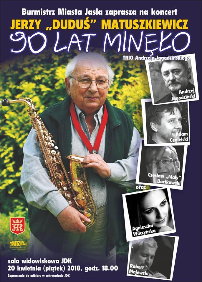 koncert z okazji 90. urodzin Jerzemu