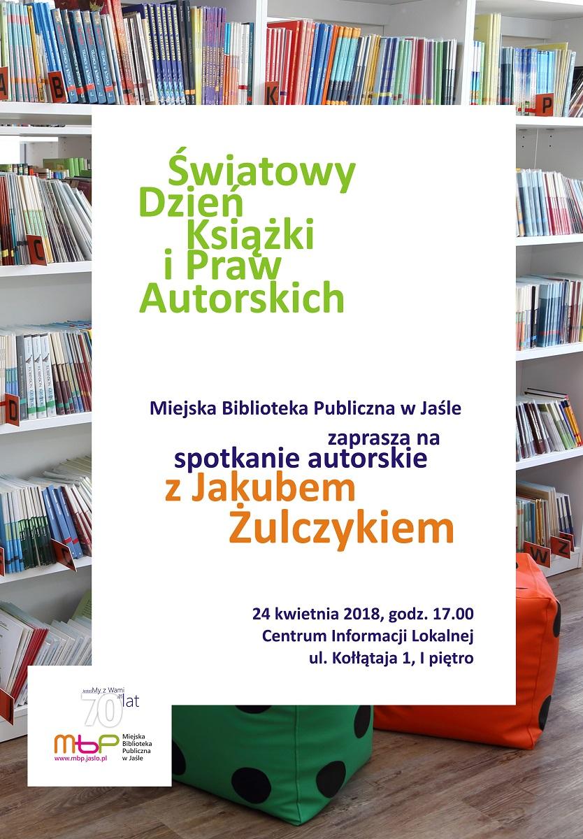 Jakub Żulczyk w jasielskiej bibliotece