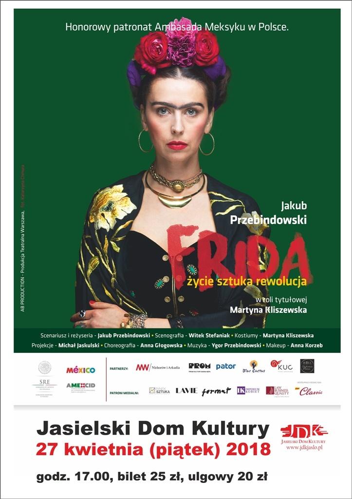 Frida Kahlo… w Jasielskim Domu Kultury