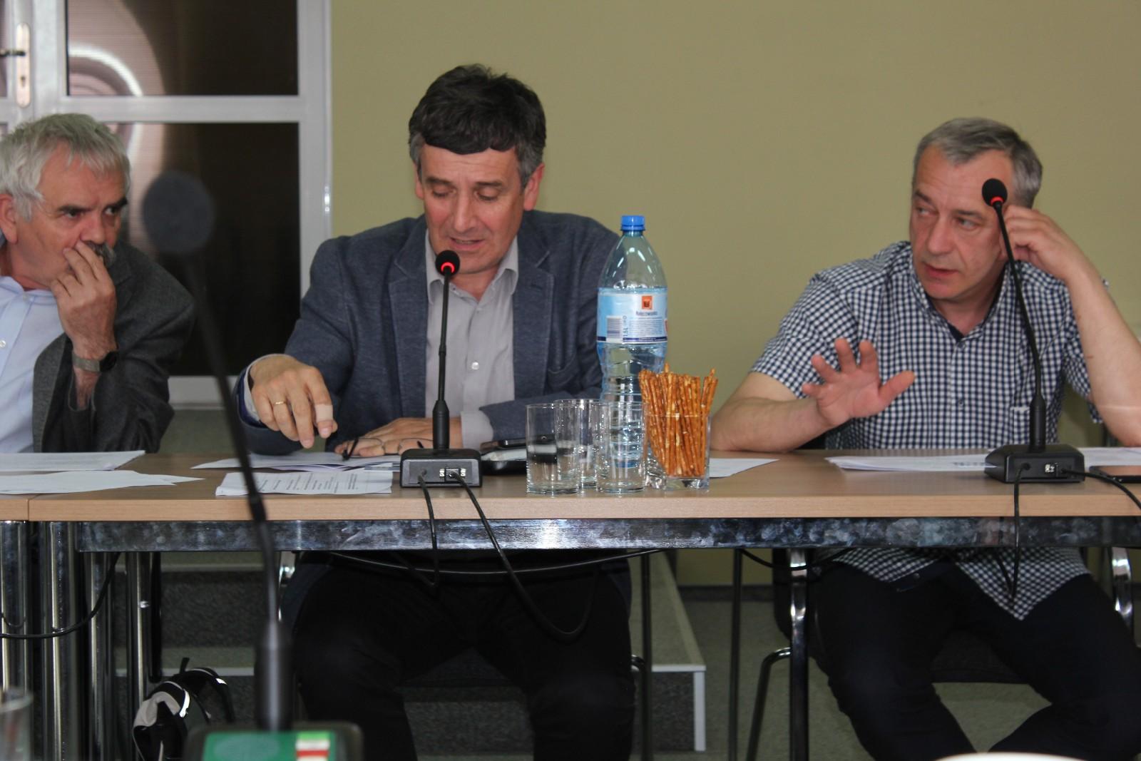 Ośrodek Edukacji Ekologicznej w Ożennej - Sesja Powiatu