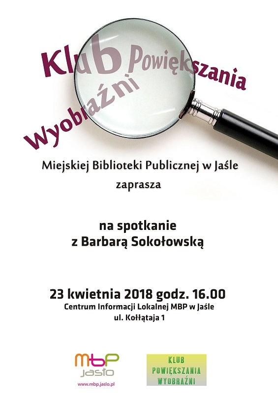 Kresy Juliana Wołoszynowskiego – Barbara Sokołowska w bibliotece