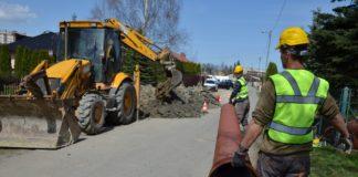 Kanalizacja na ulicy Bolesława Prusa