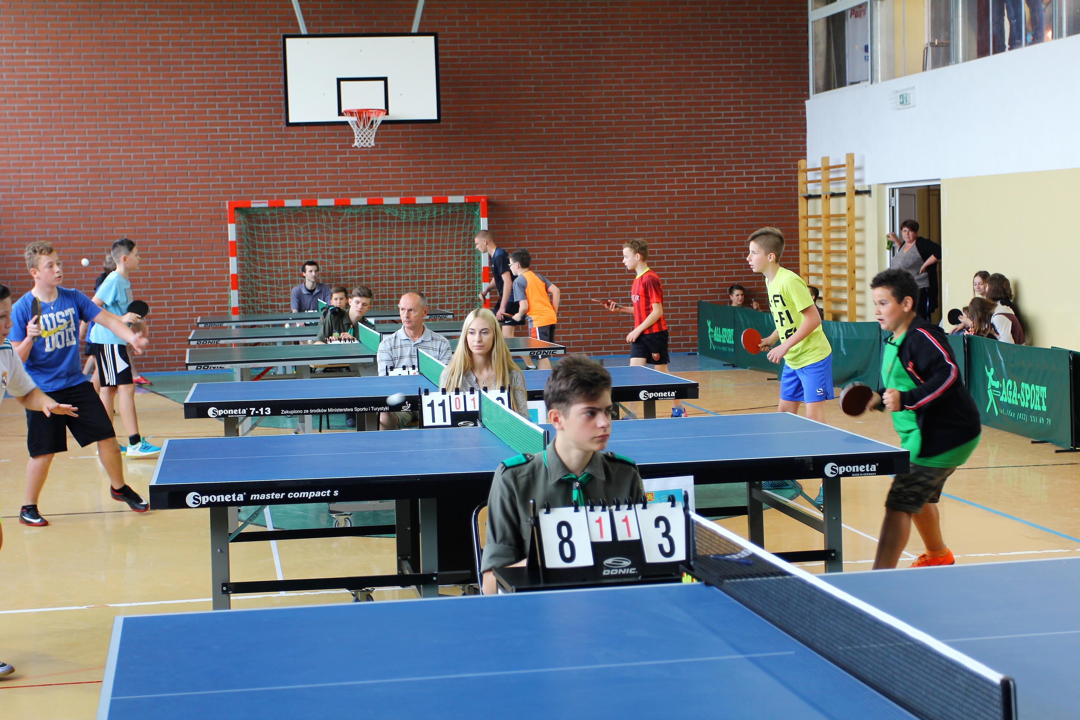 Turniej tenisa stołowego Jasło