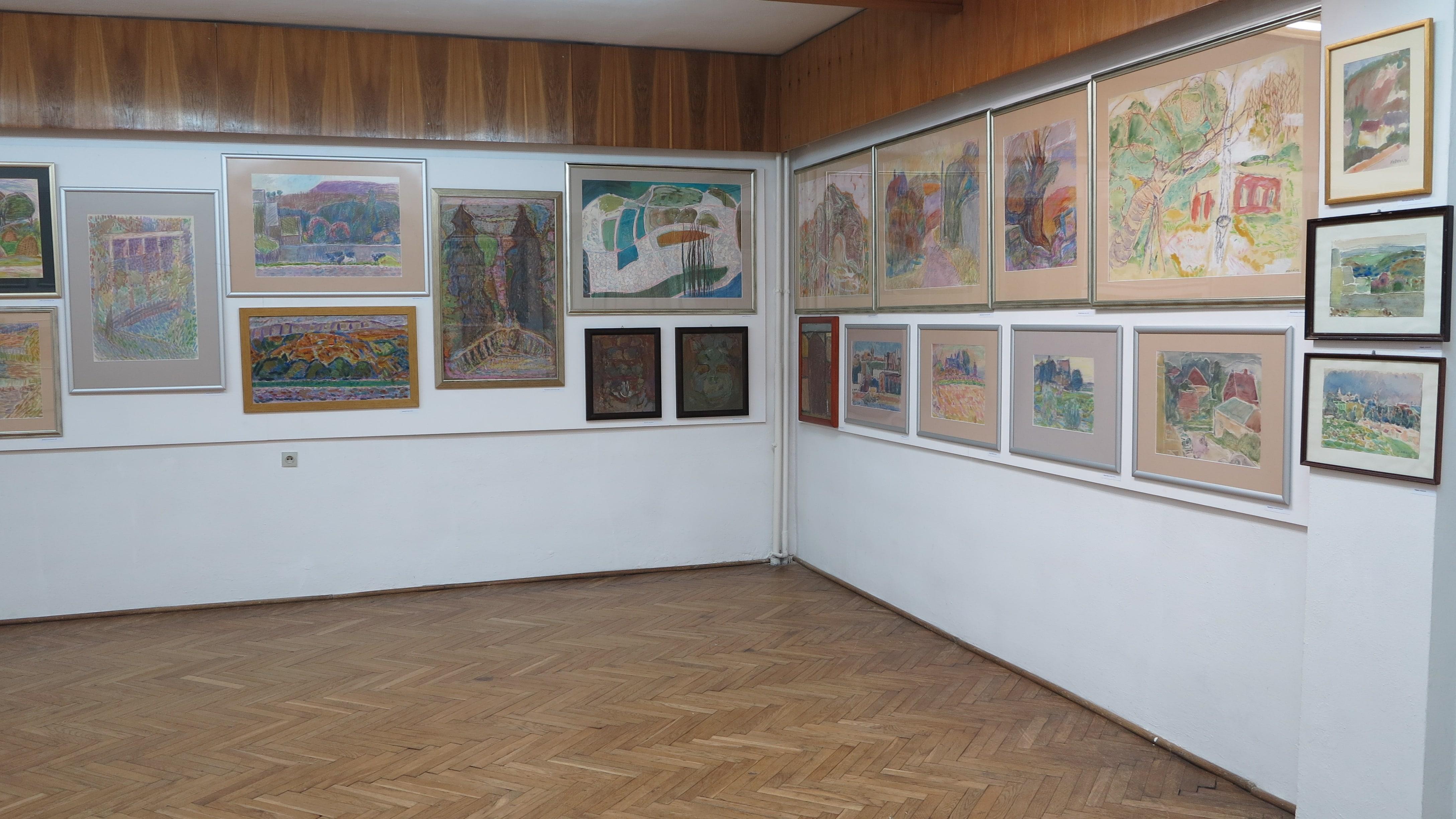 Wystawa prac prof. Jana Wodyńskiego