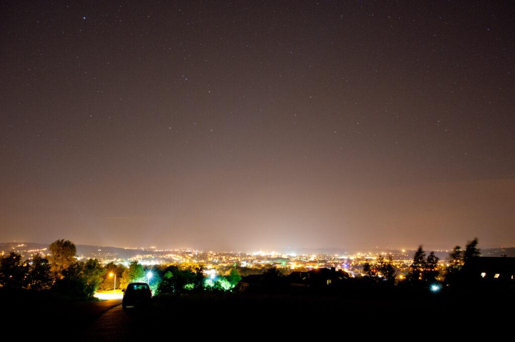 Jasło nocą