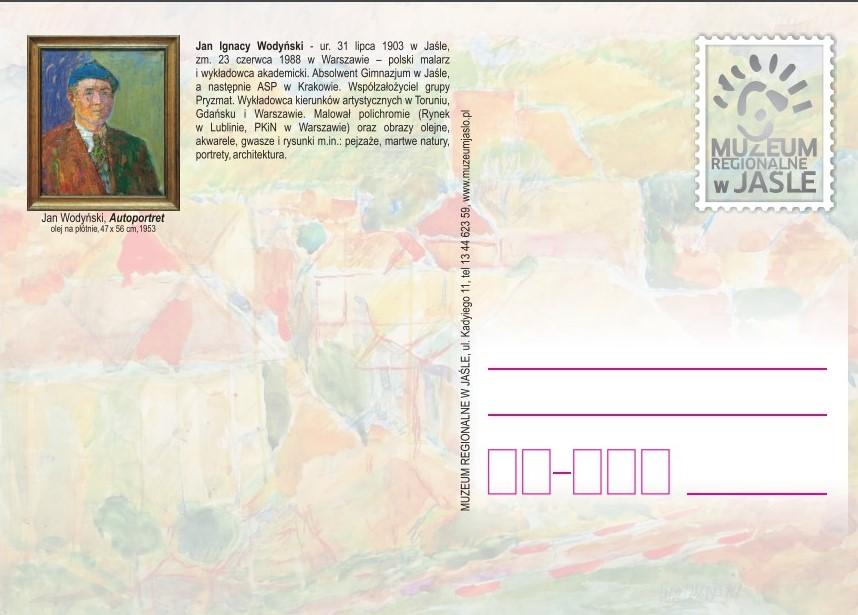Pocztówka Muzeum Jasło