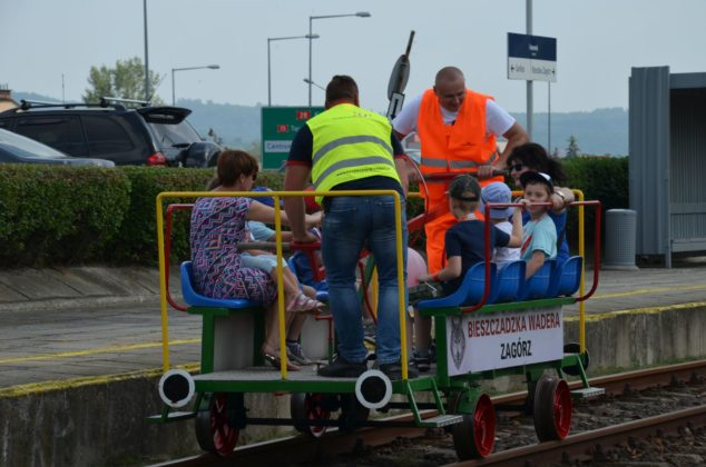 Piknik kolejowy na Dzień Dziecka