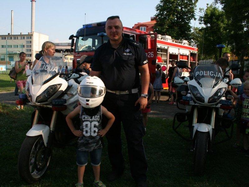 foto: KPP Jasło - Dzień Dziecka w Jaśle przy ul. Śniadeckich