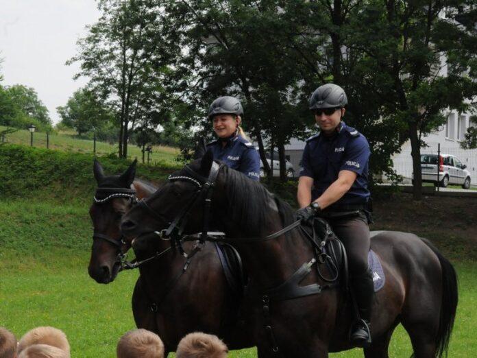 Bezpieczeństwo na wakacjach policja Jasło