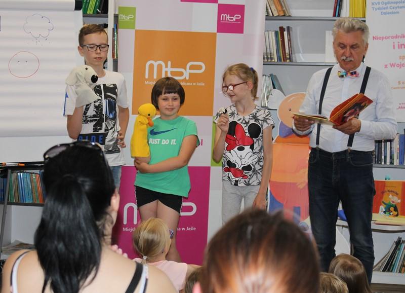 Spotkanie autorskie MBP w Jaśle
