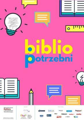 PLAKAT Biblio-potrzebni