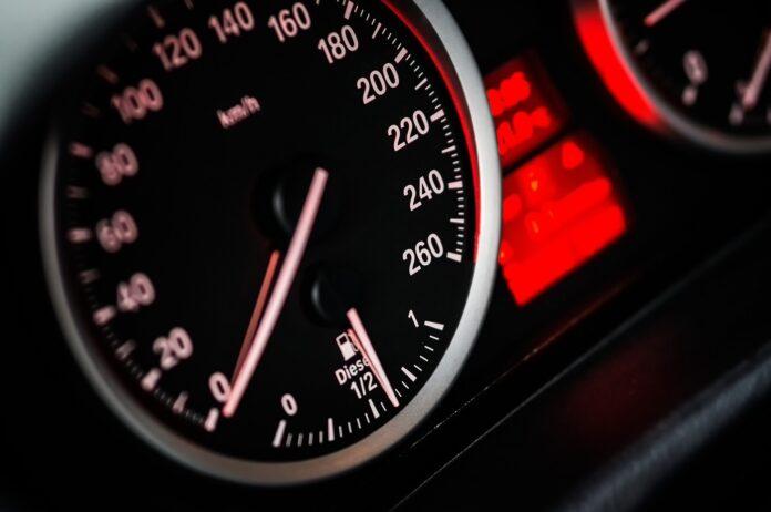 Przekroczona prędkość - policja Jasło