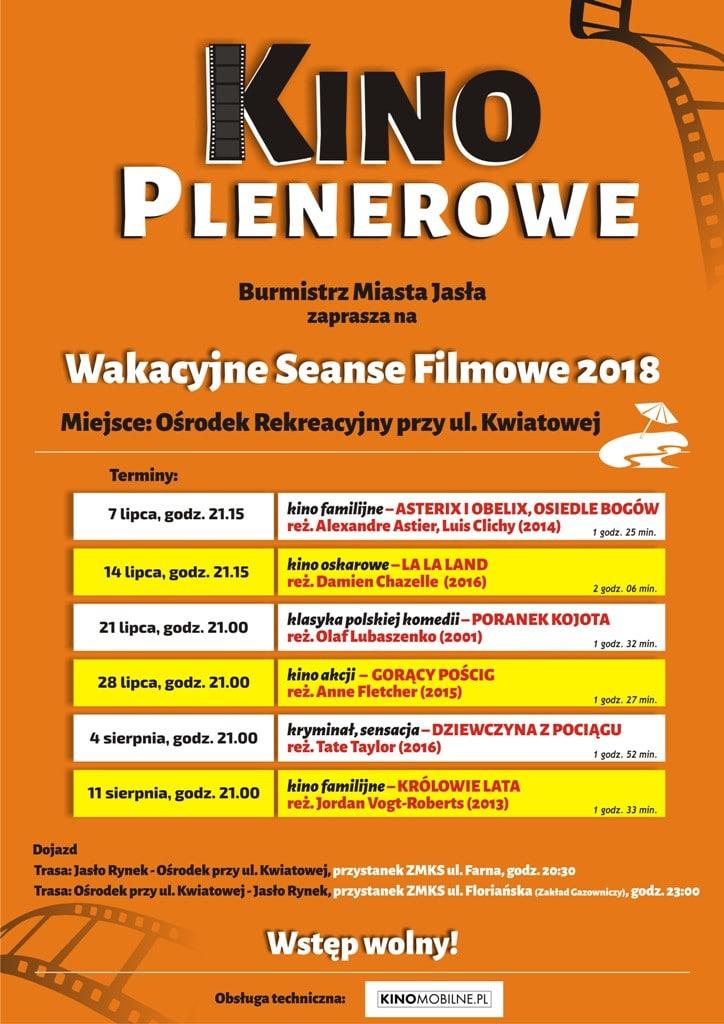 plakat Kino plenerowe_2018