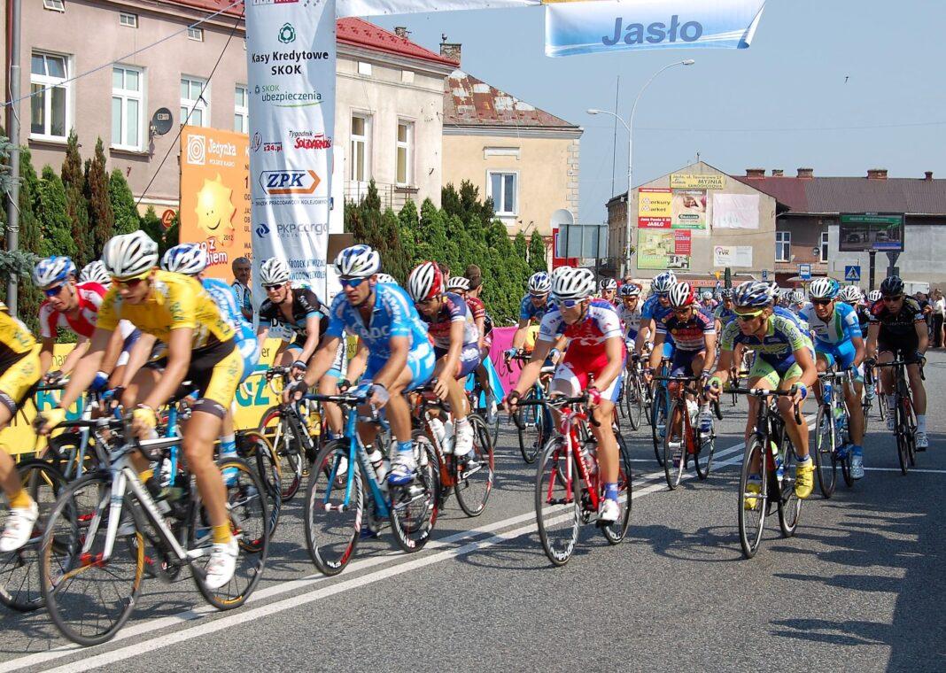 Wyścig kolarski - aktualności Jasło