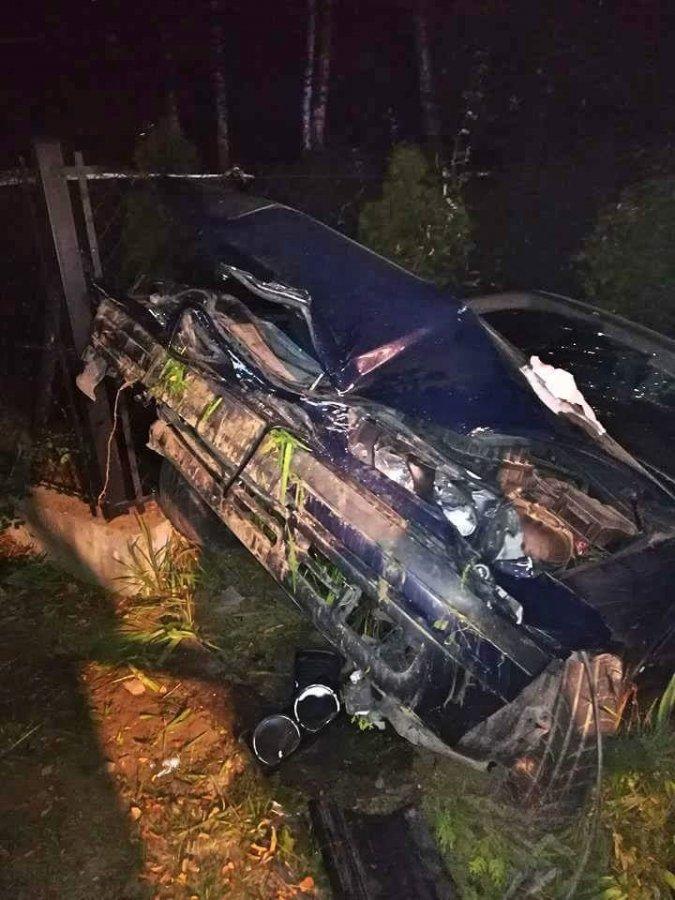 Pijany kierowca BMW spowodował wypadek