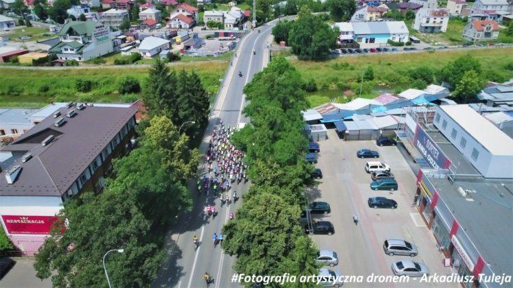 Wyścig kolarski ulicami Jasła