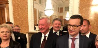 Adam Pawluś na spotkaniu z Premierem Mateuszem Morawieckim