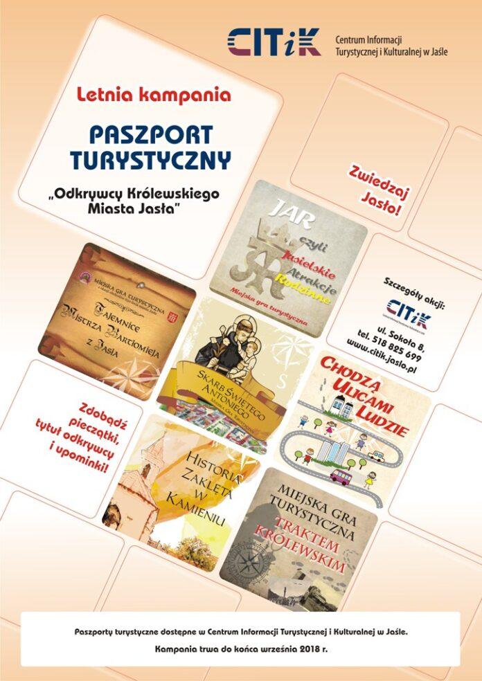Paszport turystyczny - aktualności Jasło
