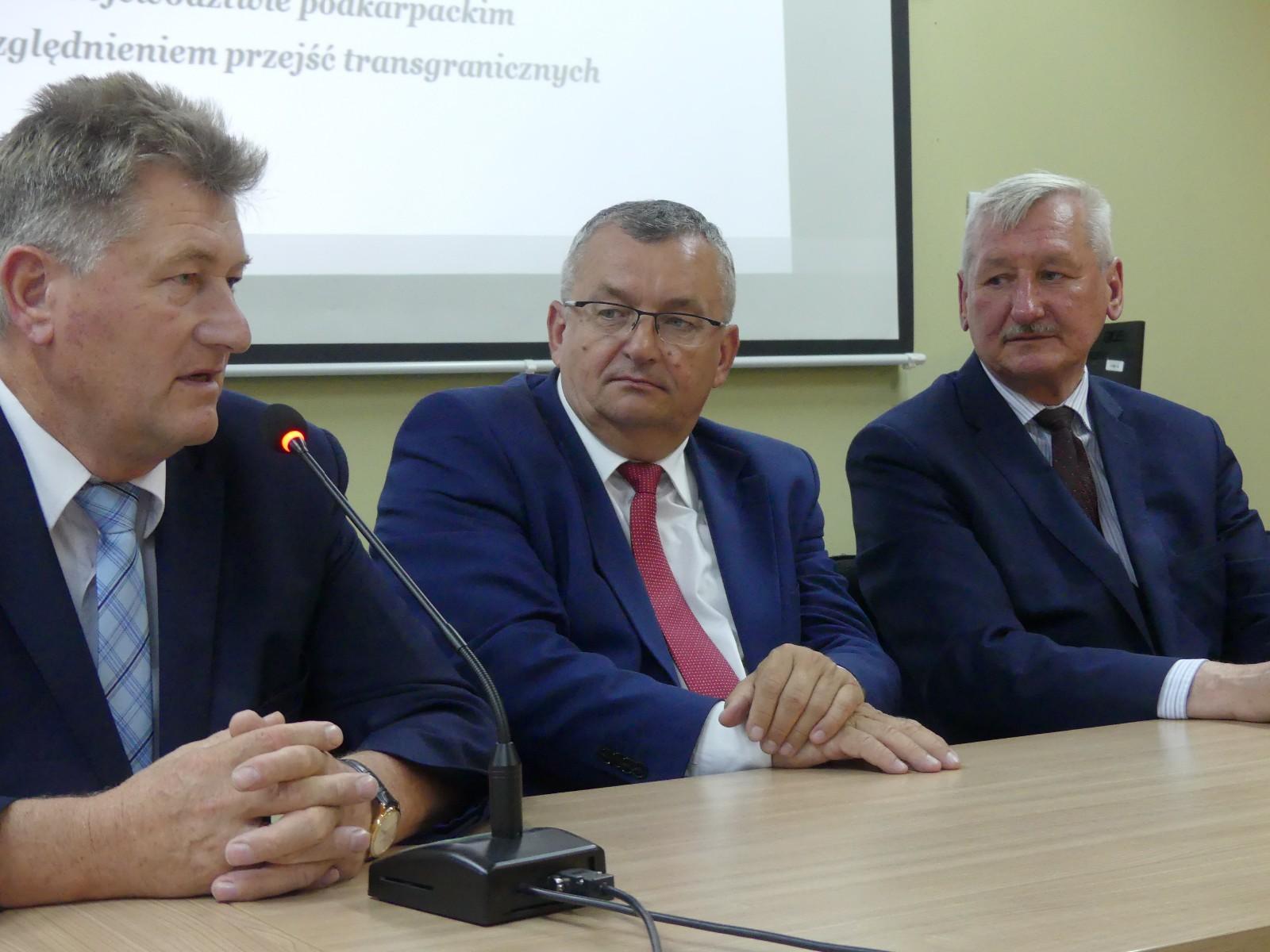 Wizyta ministra Adamczyka w Jaśle