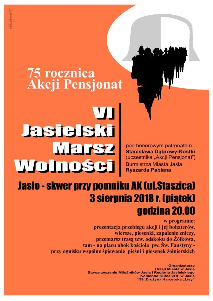 VI Jasielski Marsz Wolności