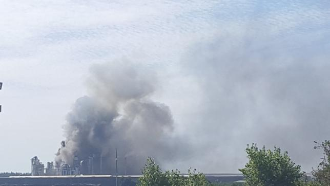 Wybuch w fabryce Kronospanu w Mielcu