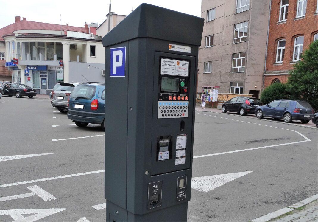 Nowe parkometry na kartę płatniczą