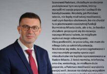 Krzysztof Pec - oświadczenie