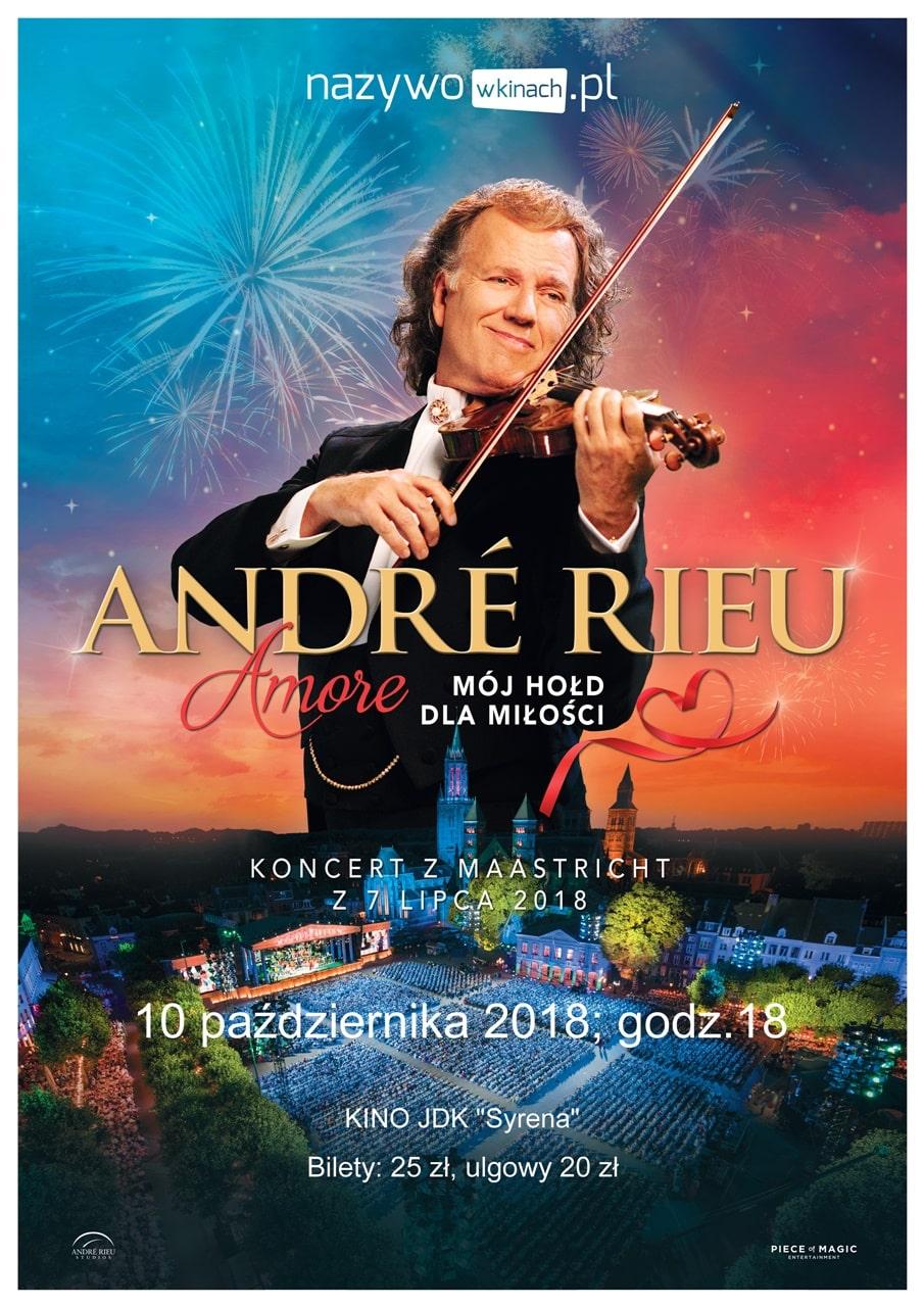 Retransmisja koncertu André Rieu z Maastricht