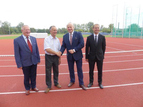Wizyta Ministra Sportu Jasło