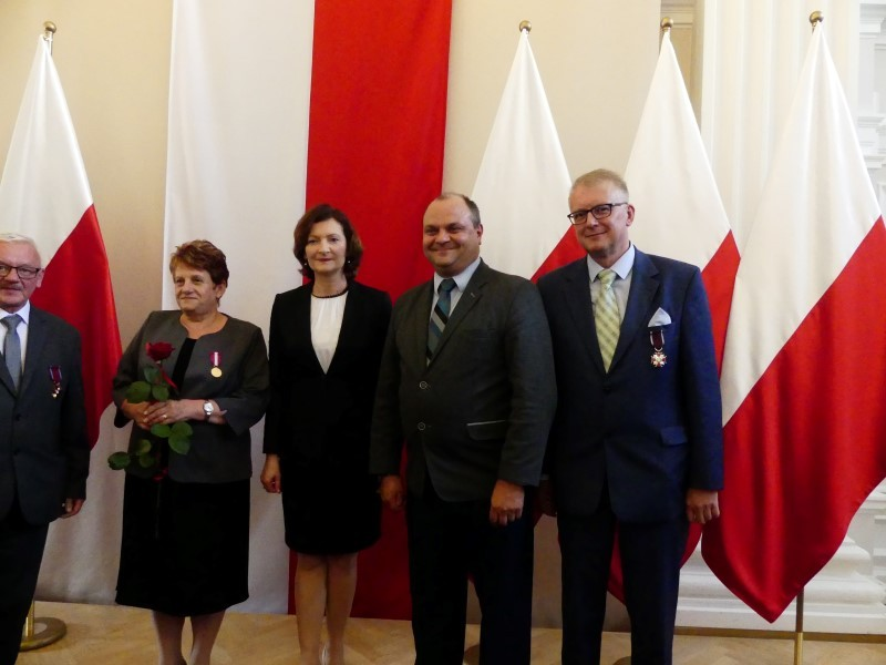 Robert Snoch odznaczony Srebrnym Krzyżem Zasługi
