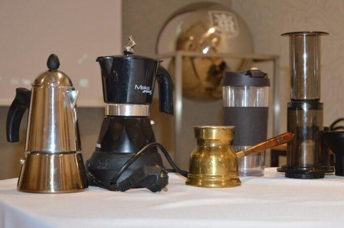 O kawie przy kawie