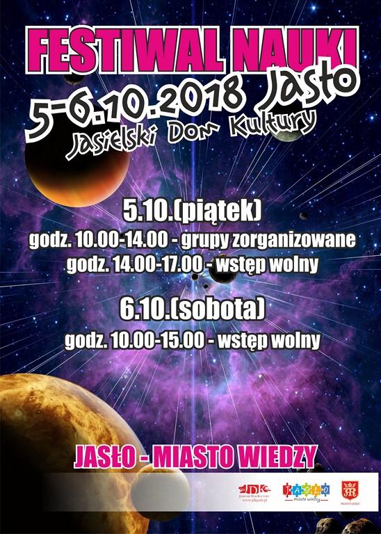 Festiwal Nauki w Jaśle