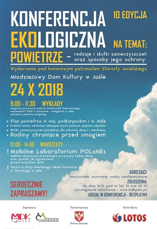 X Konferencja Ekologiczna w Jaśle