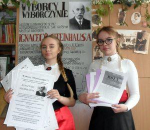 Jasielscy posłowie Sejmu Dzieci i Młodzieży
