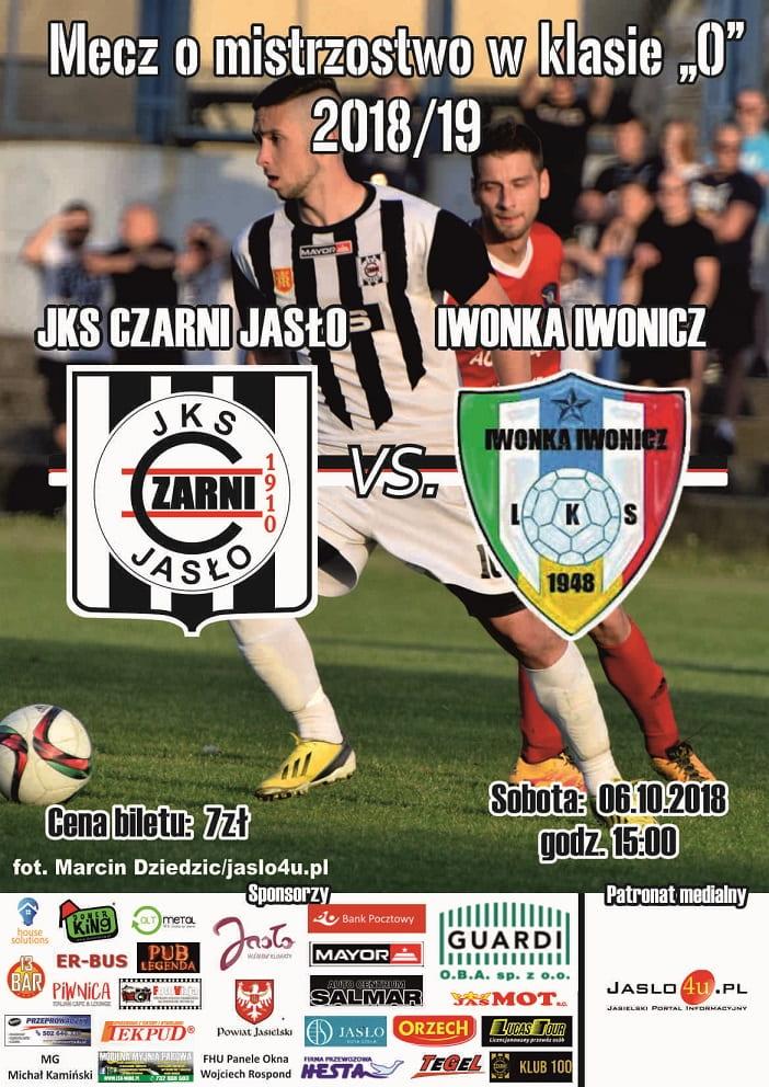 JKS Czarni Jasło vs Iwonka Iwonicz