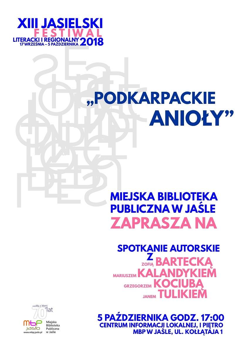 Podkarpackie Anioły – spotkanie autorskie w MBP w Jaśle