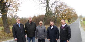 Otwarcie drogi Osiek Jasielski - Mytarz