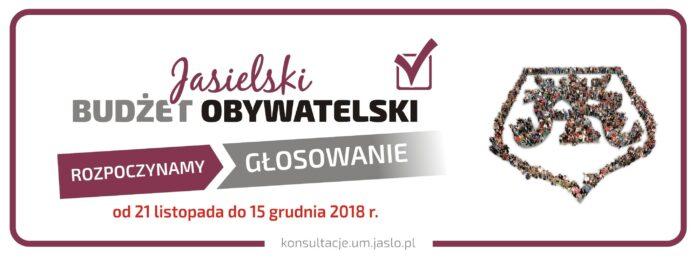 Jasielski Budżet Obywatelski – rozpoczynamy głosowanie