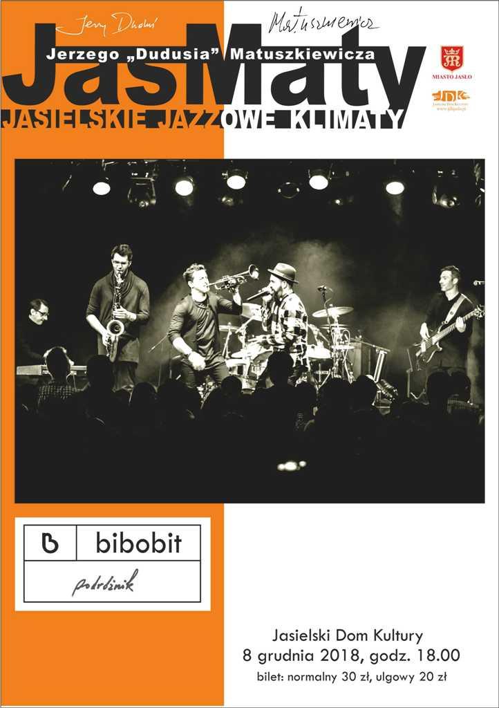 JasMaty: Bibobit w Jaśle - plakat